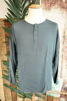 Cotton Shirt mit Coconut Shell Button CSC-01