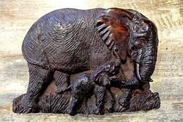 Elefanten Wandbild XF36