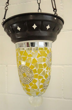 Türkische Mosaik Teelicht Hänge-Ampel OR-13