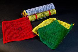 Tibetische Gebetsfahnen - die Klassischen...
