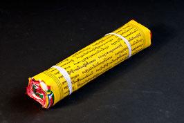 lange Tibetische Baumwoll-Gebetsfahne