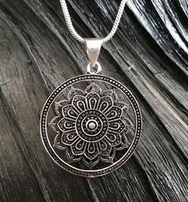 Ethno Kette mit Mandala Amulett GU-40199