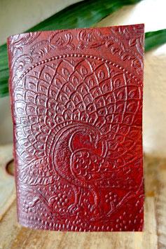 Leder Notizbuch Peacock