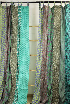 Patchwork-Sareestoff-Vorhang (1-Paar) GUR-41156