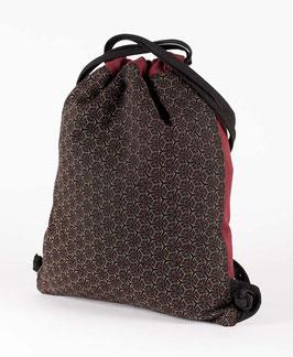 Seed of Life Kubic Drawstring Backpack