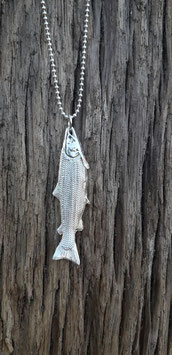 Kettenanhänger  Atlantischer Lachs    Pendant Atlantic Salmon