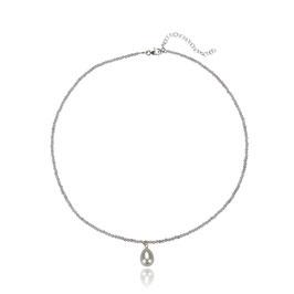Labradorit  Collier mit Perle