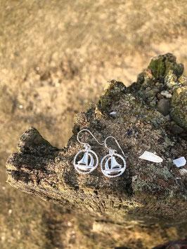 Segler im Ring Ohrhänger
