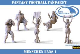 Fantasy Football Fans: Menschen Paket 1