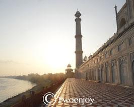 Taj Mahal parvis arrière
