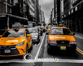 Taxi emblématique New York