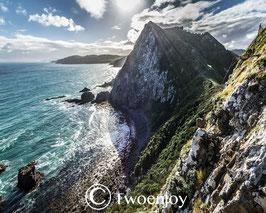 Nugget point vue Nouvelle-Zelande