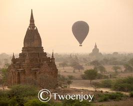 Bagan montgolfières