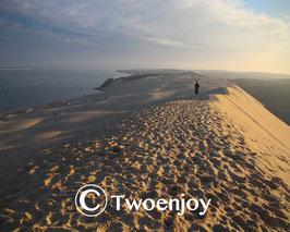 Lever du soleil Dune du Pilat