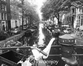 Vélo canal Amsterdam