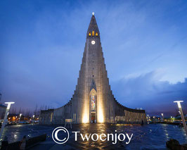 Eglise luthérienne Reykjavik