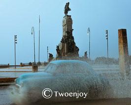 Orage sur La Havane