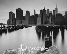 Manhattan depuis le Brooklyn Bridge Park