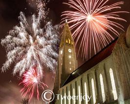 Reykjavik jour de l'an