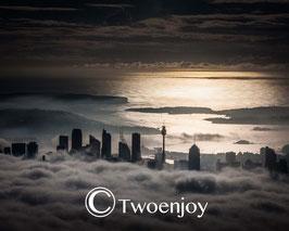 Sydney dans les nuages