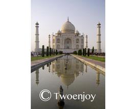 Taj Mahal vue de face