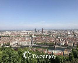 Vue panoramique depuis Fourviere