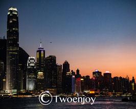 Hong-Kong de nuit