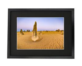 Coucher du soleil désert des Pinnacles