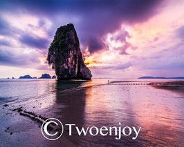 Coucher de soleil Phra Nang