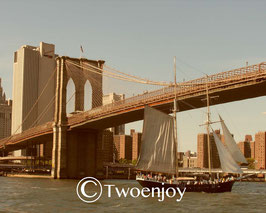 Brooklyn Bridge voilier