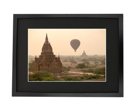 Bagan mongolfière Birmanie