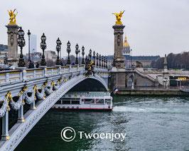Vedette Pont Alexandre 3 Paris