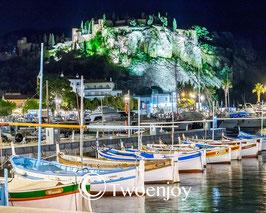 Vieux port Cassis de nuit