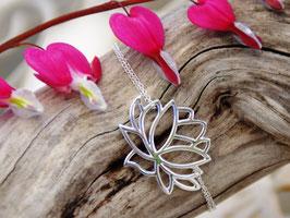 Silberarmkette Lotusblüte