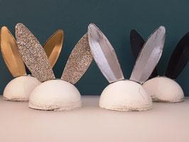 Eierhütchen Hasenohren 4-er Set