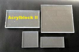 Acrylblock II, 60 x 110 mm