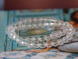 Armband Bergkristall facettiert