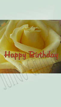 Weinetikette Geburtstag Blume 7