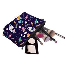 Pochette maquillage espace dejanté