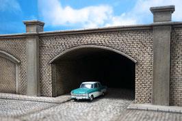 Unterführung/ Brücke Stadtbahnviadukt Spur 0  1:45 koloriert bemalt gealtert