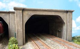 2 - gleisige Betonunterführung mit Tunnelröhre  Spur 1  1:32 koloriert , gealtert