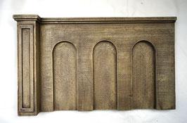 Beton Stützmauer  Spur 1  1:32 koloriert , gealtert