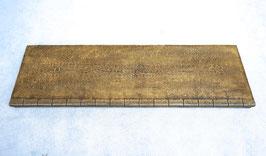 Bahnsteigsegment für Landbahnhof   Spur 1  1:32 koloriert, bemalt , gealtert