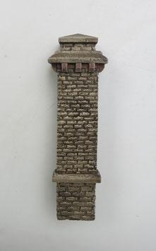 Pfeiler für Tunnelportal Rotstein   Spur 0  1:45 koloriert bemalt gealtert