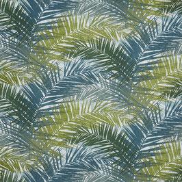 Dekostoff Palmen - grün