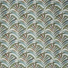 Dekostoff Tropic - blaugrün