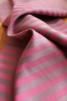 Geschirrtuch Streifen - pink