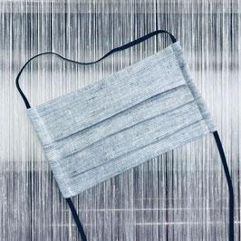 Leinenmaske - blau