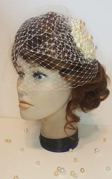 "Fascinator ""Perlentraum"""