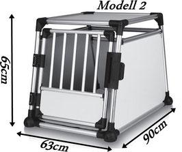 Auto Aluminium Hundebox Safety 2 63 x 65 x 90 cm